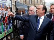 Tổng thống Pháp động viên đội chủ nhà trước giờ khai cuộc EURO 2016