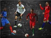 Anh vô địch EURO nếu chỉ đá vòng loại. Đức lên ngôi nhờ đá 11m. Bỉ giành cúp nhờ BXH FIFA...