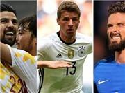 EURO 2016: Tam mã Đức, Tây Ban Nha & Pháp