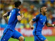 Thơ bình luận trận Pháp - Romania 2-1