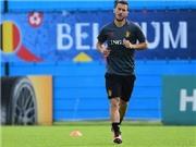 Hazard dính chấn thương trước trận Bỉ gặp Italy