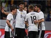 Đội tuyển Đức sẵn sàng chinh phục danh hiệu