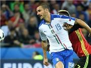 Với Bonucci, Italy thấy màu xanh hy vọng trên đất Pháp