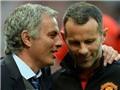 TIẾT LỘ: Mourinho coi Ryan Giggs là ĐỐI THỦ phải loại bỏ vì sợ bị Giggs LẬT ĐỔ