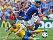 ĐIỂM NHẤN Italy 1-0 Thụy Điển: Ibrahimovic 'mất điện'. Eder bừng sáng. Italy vào vòng 1/8