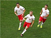 Ukraine 0-1 Ba Lan: Thắng tối thiểu, Ba Lan không thể soán ngôi đầu của Đức