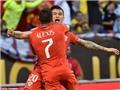 Hạ Colombia 2-0, Chile tái ngộ Argentina tại chung kết