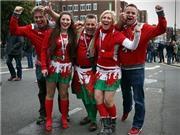 Cổ động viên xứ Wales - Bắc Ireland tự tin về một chiến thắng