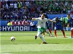 CẬP NHẬT trận Pháp - CH Ireland: Brady giúp CH Ireland vươn lên dẫn trước ở phút thứ 3