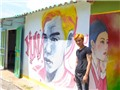 Việt Nam có 'làng bích họa' kiểu Hàn đầu tiên