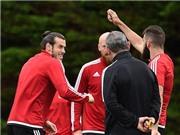 Gareth Bale và đồng đội tập luyện như đùa trước trận quyết đấu với Bỉ