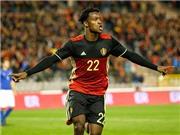 Cầu thủ Bỉ mất tập trung