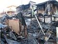 Khống chế kịp thời vụ cháy tại cửa hàng sát chợ Bình Tây