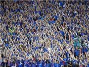 CHÙM ẢNH: Màn chia tay EURO đầy xúc động của người Iceland
