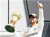 Vô địch trên sân nhà, Hamilton áp sát Rosberg