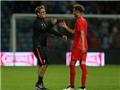 Liverpool để thủ môn Shamal George lên đá tiền đạo ở trận gặp Huddersfield