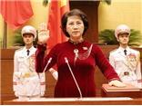 VIDEO: Lễ tuyên thệ nhậm chức của Chủ tịch Quốc hội Nguyễn Thị Kim Ngân
