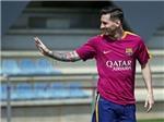Leo Messi bất ngờ trở lại Barca tập luyện sớm hơn dự kiến