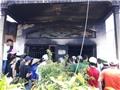 Hai cháy bé chết trong đám cháy cửa hàng vàng mã