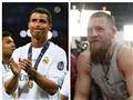 Ronaldo đọ cơ bắp CỰC CHUẨN cùng võ sĩ UFC