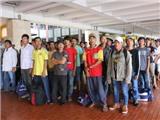 Indonesia trao trả 65 ngư dân Việt Nam
