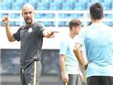 Pep Guardiola cấm cầu thủ Man City nào không được tập luyện?