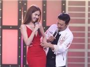 Nữ hoàng nội y Ngọc Trinh làm MC truyền hình thực tế