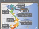 Thời tiết ngày 29/7: Bắc Bộ và Thanh Hóa tiếp tục có mưa to đến rất to