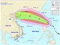 Bão giật cấp 15 đang tiến vào Biển Đông