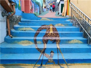 Câu chuyện du lịch: Khám phá những ngôi làng tranh nghệ thuật nổi tiếng ở Hàn Quốc