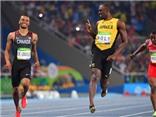 ẤN TƯỢNG: Usain Bolt nhảy cực đẹp trước thời khắc chạy 200m nam
