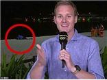 SỐC: Hình ảnh cặp đôi 'yêu' trên bãi biển lên sóng trực tiếp Olympic của BBC