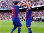 Lập hat-trick vào lưới Betis, Luis Suarez ca ngợi Messi khủng khiếp như... quái thú