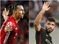 Ganh đua ở Manchester: Ibrahimovic và Aguero, ai giỏi ghi bàn và đẳng cấp hơn?