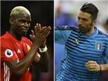 Buffon đau đớn vì Pogba đến Man United