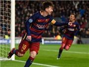 'Siêu phẩm' của Messi vào lưới Roma đẹp nhất mùa 2015-16