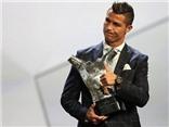 Cộng đồng mạng ví Ronaldo giành giải Cầu thủ xuất sắc nhất châu Âu là 'MỘT TRÒ HỀ'