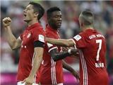 Bayern 6-0 Bremen: Lewandowski lập hat-trick, Hùm xám khởi đầu hoàn hảo