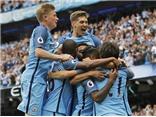 Man City 3-1 West Ham: Sterling lập cú đúp giúp Man City lên ngôi đầu bảng