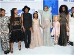 Những người phụ nữ 'lạ' bám theo Beyonce, từ phim tới thảm đỏ MTV