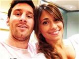 Bạn gái nhờ mạng xã hội, chuyển đến Messi thông điệp tình yêu lãng mạn