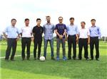 Đại diện CLB Barcelona đến SHB Đà Nẵng