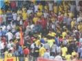 Nam Định thua trận play-off, CĐV thành Nam nổi đóa