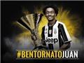 TRỰC TIẾP chuyển nhượng ngày cuối cùng: Juventus mượn thành công Juan Cuadrado với thời hạn 3 năm