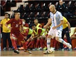 Futsal Việt Nam thua ngược Argentina