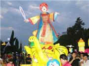 Chùm ảnh: Rước đèn Trung thu lớn nhất Việt Nam