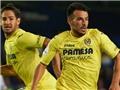 ĐẲNG CẤP: Cầu thủ Villarreal lốp bóng ghi bàn ngoạn mục từ giữa sân