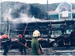 Cháy xe khách ở Phú Yên, 23 người may mắn thoát chết