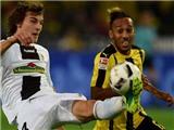 Dortmund 3-1 Freiburg: Aubameyang lại ghi bàn, Dortmund tạm thời bằng điểm Bayern