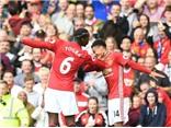 Man United 4-1 Leicester: Pogba mở tài khoản, Man United thắng đậm trên sân nhà